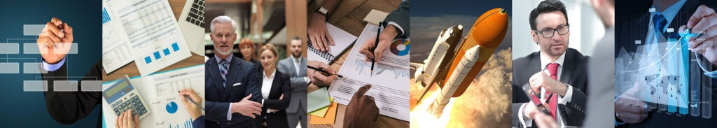 Montages of consulting photos